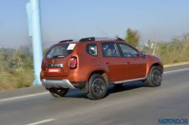 renault duster 2017 automatic renault duster petrol cvt launch reportedly scheduled for may 2017