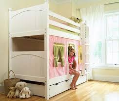 wohnideen minimalistische hochbett 36 modelle vom hochbett für mädchen archzine net