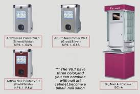 nail design center digital nail printer professional nail vending machine
