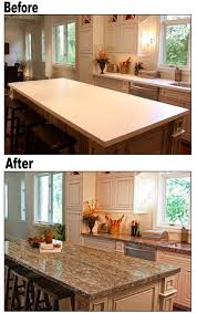 countertop ideas for kitchen best 25 kitchen counters ideas on kitchen granite