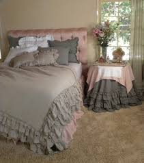 beautiful washable linen ruffles bedding collection things i