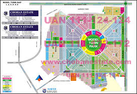 Garden State Plaza Map by Maps Lahore Dha Phase1 2 3 4 5 6 7 8 9 Prism Model Town