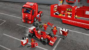 ferrari lego f14 t u0026 scuderia ferrari truck by lego choice gear
