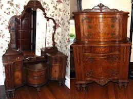 1950 bedroom vanity antique furniture vintage bedroom set