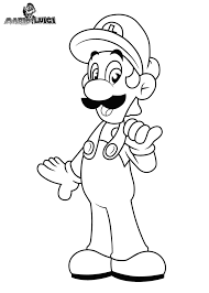download coloring pages luigi coloring pages super mario bros