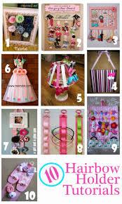 hair bow holder 10 diy hair bow holder tutorials you can make at home frugal