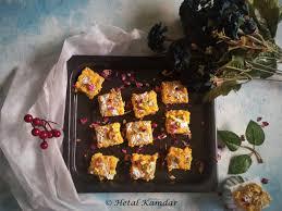 Cottage Cheese Brownies mango kalakand mango cottage cheese fudge u2013 hetal kamdar