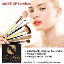 makeup classes michigan la rella by ariel in kentwood michigan also offers make up