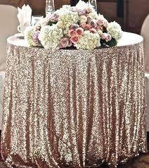 Wedding Table Linens Glitter Table Cloth Cepagolf