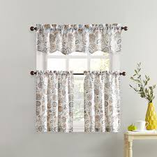 Antique Satin Valances by Gorgeous Swag Kitchen Curtains And Savannah Embroidered Curtains