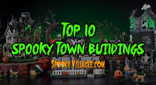 spooky town greatest spooky town building spookyvillages
