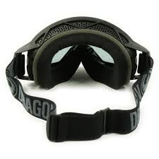 dragon motocross goggles dragon new mx nfx2 black smoke ionized dark tinted motocross