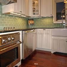 Green Subway Tile Backsplash Transitional Green Subway Tile Backsplash Home Designs Idea