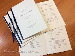catholic wedding booklet order of service booklets invitations sydney