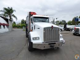 custom kenworth for sale pk 56002 d knuckle boom mounted to 2005 kenworth t800 tractor