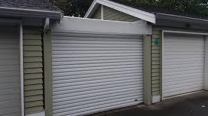 Overhead Shed Door by Roll Up Garage Doors In Vancouver Smart Garage