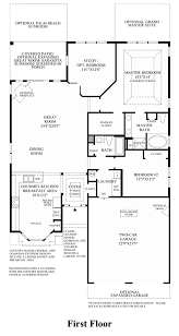 Georgian Floor Plan by Meadow Glen At Skippack The San Remo Home Design