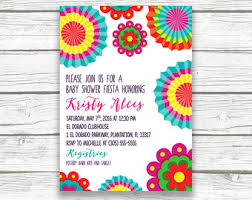 bridal shower invitation invitation mexican