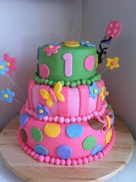 1st birthday cake for baby girls