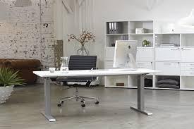 bureau motorisé bureau ergonomique motorisé complet alu blanc bureauxdebout