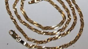 ladies necklace images Necklace ladies gold 18 kt 750 singapore model length 50 cm jpg
