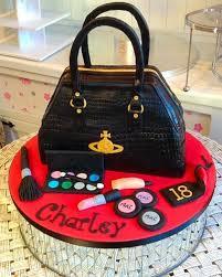 handbag and makeup cake the world of make up
