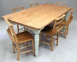 Farm Style Dining Room Sets - dining table farmhouse dining chairs table island style room set