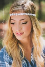 hippie headband boho headband flower headband bohemian headband hippie