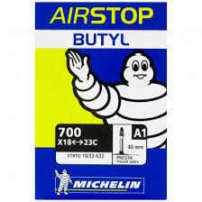 chambre à air 700x23c michelin chambre à air airstop butyl a1 700x18 25 40 mm