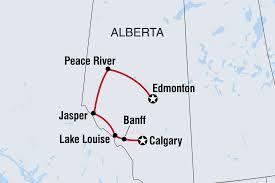 Jasper National Park Canada Map by Canada Tours U0026 Travel Intrepid Travel Gb