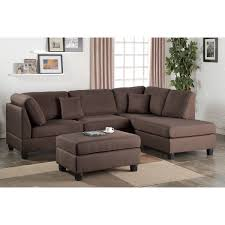sofa with reversible chaise lounge dervon reversible chaise sectional mcf