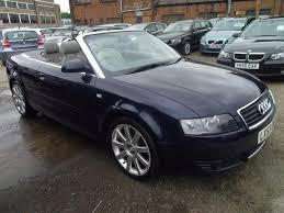 used 2003 audi a4 for sale used audi a4 2003 blue paint petrol 3 0 sport 2dr multitronic