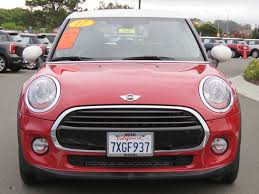 pink mini cooper 2017 used mini cooper hardtop 4 door at mini of marin serving