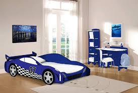 Blue Car Bed Legare Kids Furniture Race Car Series Collection Complete Desk