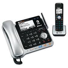 cortelco wall mount phone landline telephone