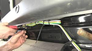installation of a trailer wiring harness on a 2014 ram promaster