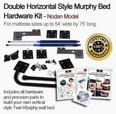 Queen Size Murphy Bed Kit Kampa U2013 Easy Horizontal Murphy Bed Hardware Kit For Queen Size