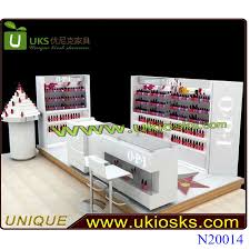 mdf nail kiosk nail salon furniture with manicure table for sale