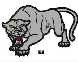 panther applique etsy