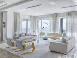 likable living room elegant drapes interior curtains and sofas