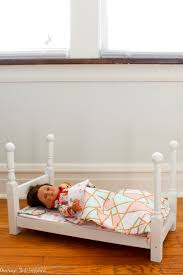 18 Inch Doll Kitchen Furniture by How To Make An American Girl Doll Bed For Under 20