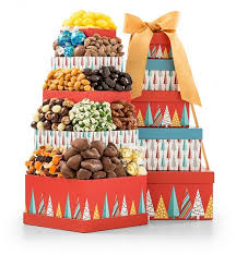 merry and bright chocolate tower gift towers every foodie