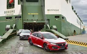 honda civic type r 2018 2018 honda civic type r arrives in australia performancedrive