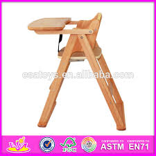Feeding Chair For Sale Wholesale Wooden Baby Chair Comfortable Wooden Toy Baby Feeding