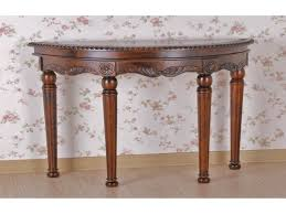 stylish half moon accent table with living room awesome half moon