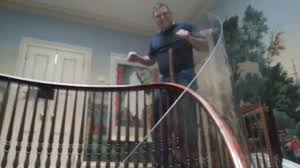 Baby Gates For Stairs No Drilling Baby Proofing With Plexi Glass Long Island Ny Youtube