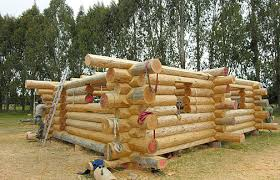 How To Build A Cottage House Log Home Building Workshops Environment House U0026 Landscape