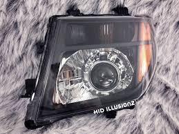 nissan frontier hid headlights hid illusionz nissan frontier morimoto mini h1 gatling gun 2 0