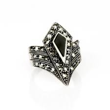buy art deco diamond shape ring english heritage