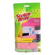 scotch brite light duty scotch brite light duty kitchen gloves medium 1 pair home care